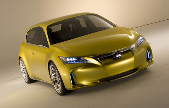 Frankfurt Motor Show Preview: Lexus LF-Ch Hybrid Concept Front Image