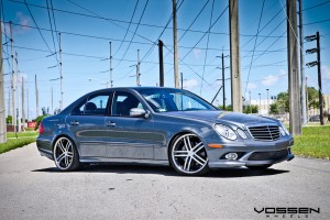 Mercedes benz e550 20 inch vossen wheels for Mercedes benz e550 ride on