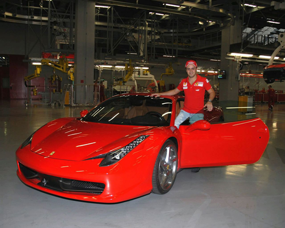 Felipe Massa + 458 Italia = Worst Promo Video Ever