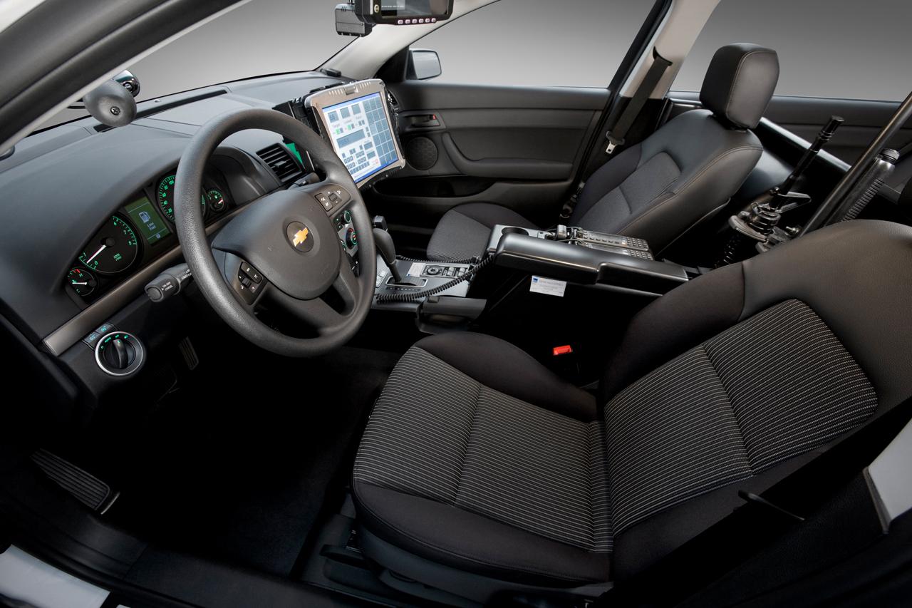 2011 Chevrolet Caprice Police Car Interior Side