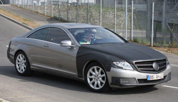 2011 Mercedes Benz S-Class Coupe Spied (Spy Shots)