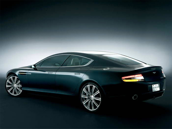 Aston Martin Rapide Promo Video