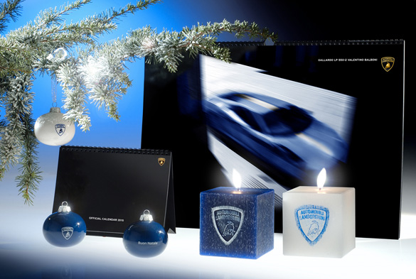 Lamborghini has Balboni baubles for Christmas!