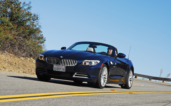 2009BMWZ4HeadonActionDownPin01small