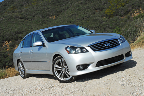 2010 Infiniti M45 Sport Sedan Review & Test Drive