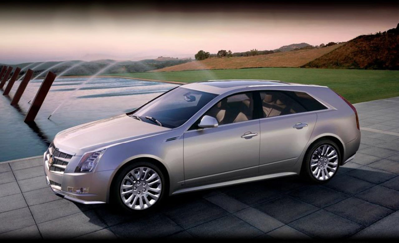 Cadillac Cadillac CTS-V Car and Driver CTS CTS-V Sport Wagon wagon