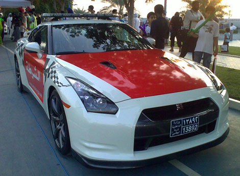 Nissan  2009 on Nov 19 2009    4 Comments Abu Dhabi S Nissan Gt R Police Car Posted By