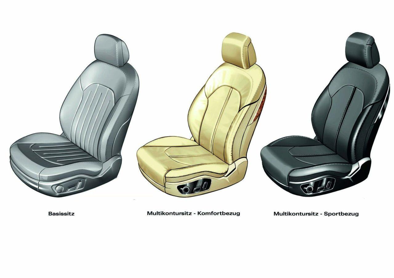 2011 Audi A8 Seats