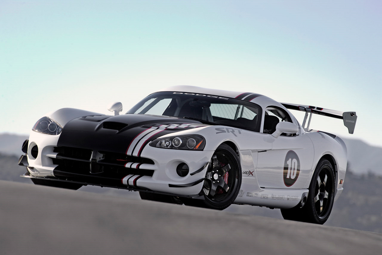 2010 Dodge Viper SRT10 ACR-X Revealed – The Snake Lives On