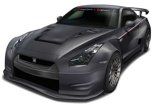 Japanese Tuner Hints at Carbon Fiber Wide Body Nissan GT-R R35