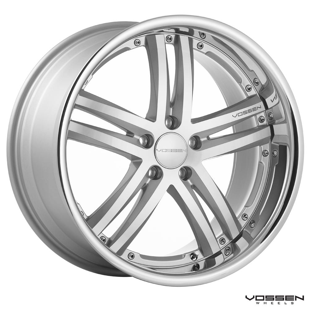 Mercedes Benz Cls 550 And Vossen Vvs 085 20 Inch Wheels Collaboration