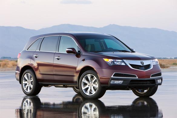 2010 Acura MDX Has a Few Loose Screws – Recalled