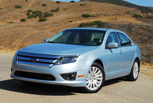 2010 North American Car & Truck of the Year: Ford Fusion Hybrid & Ford Transit Connect