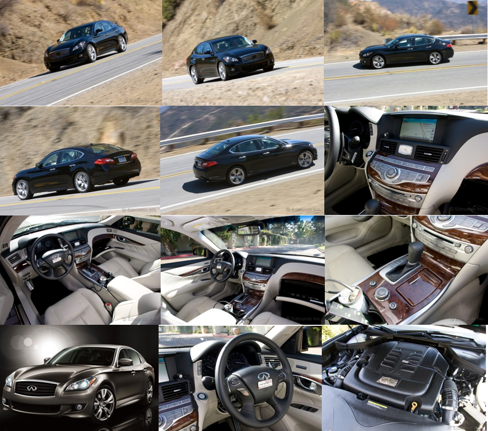 The curvier 2011 infiniti m56 first impressions the m56 has a technically advanced cabin vanachro Gallery