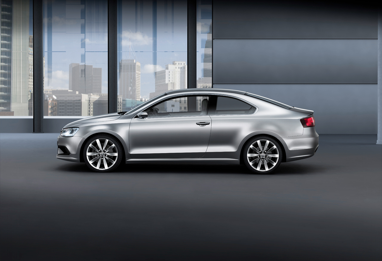 2011 Vw Jetta Coupe Side