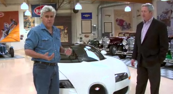 Video: Jay Leno's Garage welcomes Bugatti Veyron Grand Sport