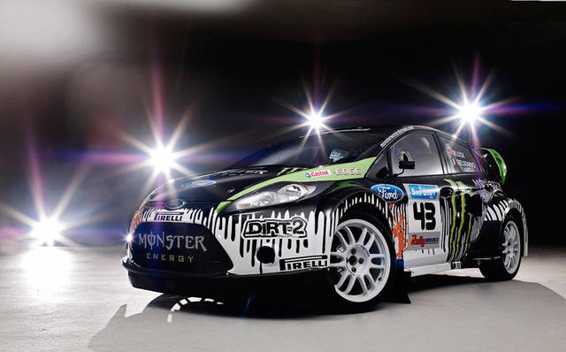 Ken Block's World Rally Ford Fiesta – Video