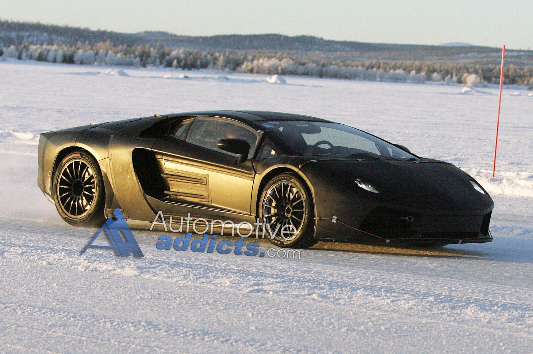 Lamborghini Jota – Murcielago Successor Spied During Testing
