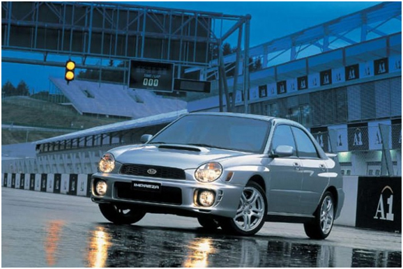 2002-'03 Subaru Impreza WRX Recalled for Fire Hazard