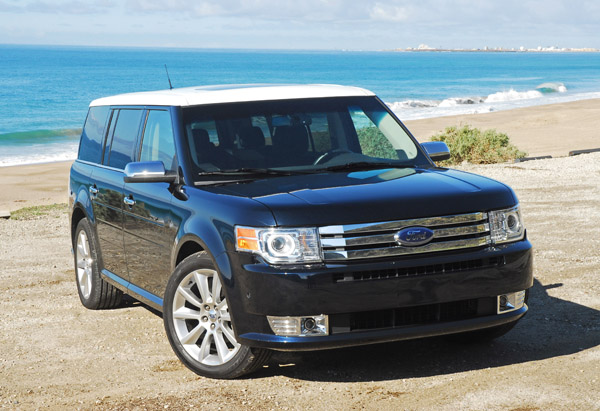2010 Ford Flex EcoBoost AWD Limited Review & Test Drive