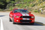 2010FordShelbyGT500HeadonActionUpPinRight01small