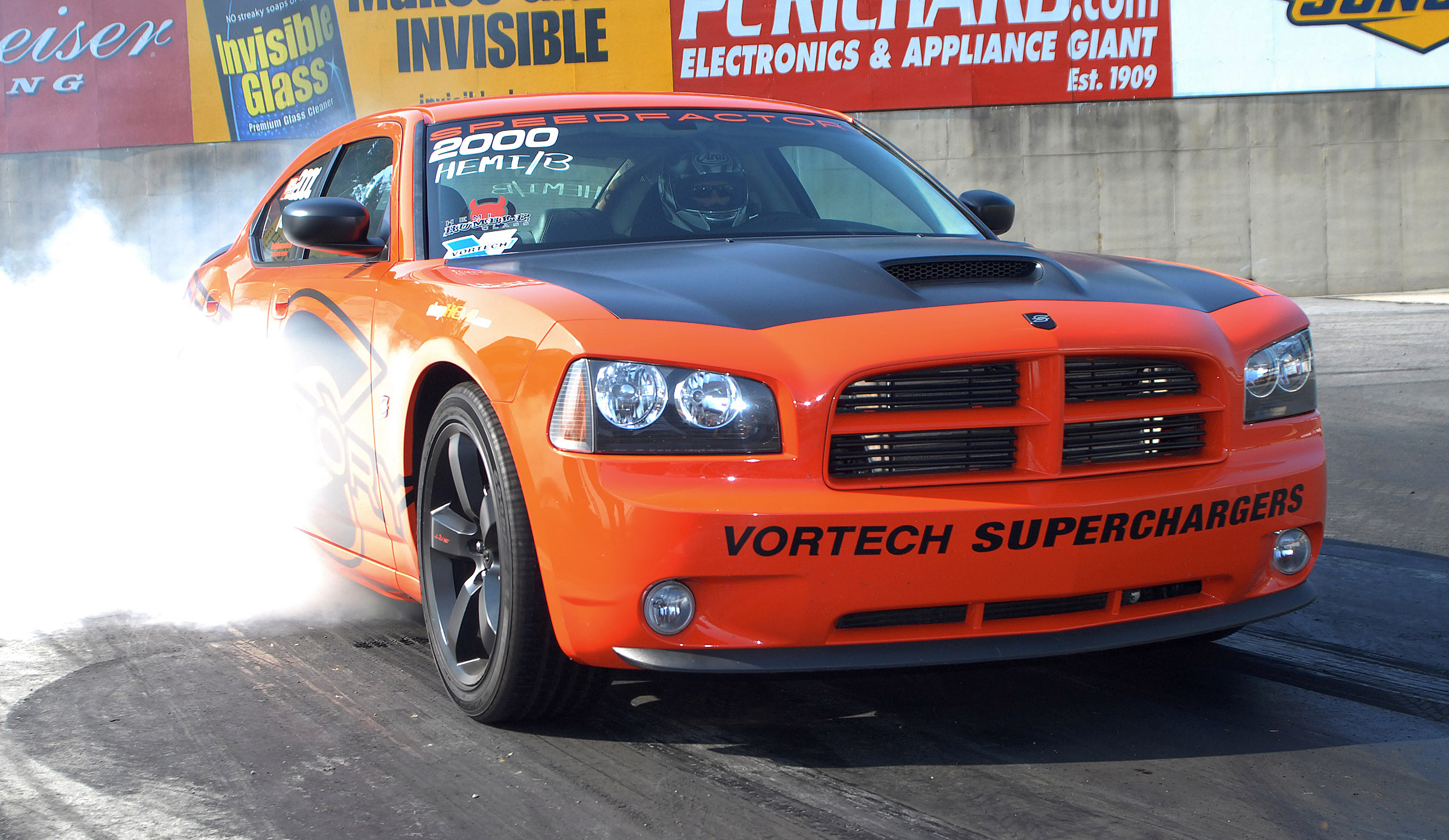 SpeedFactory 426 Charger Sets Quarter Mile World Record
