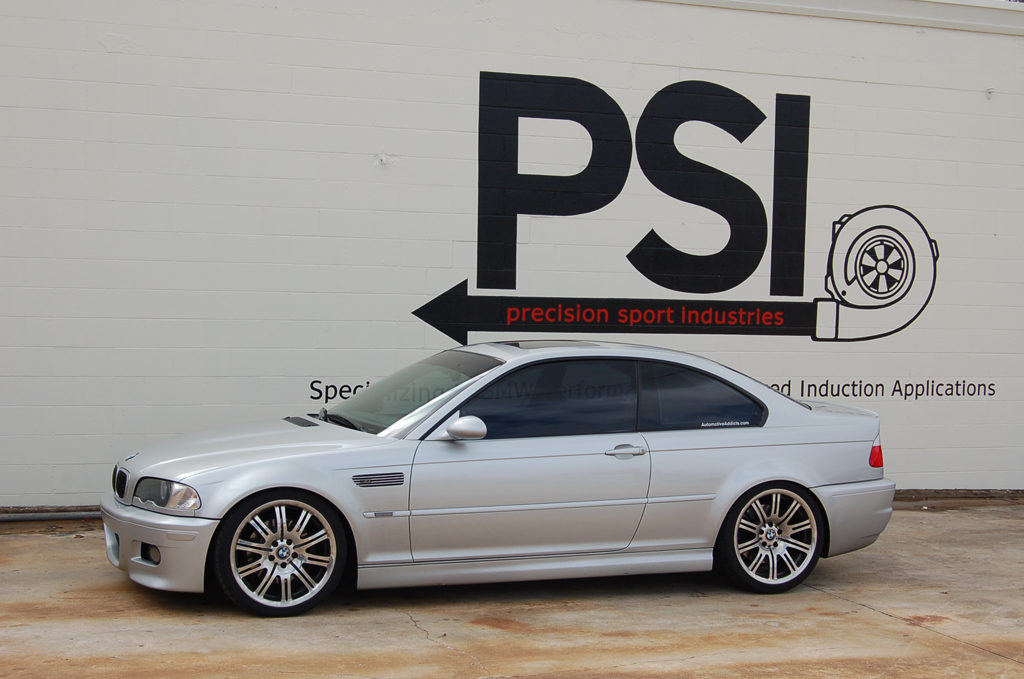 Automotive Addicts M3 goes to Precision Sport Industries