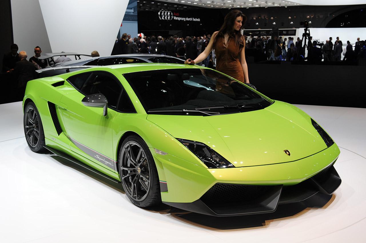 2011 Lamborghini Gallardo 570-4 Superleggera Debuts in Geneva