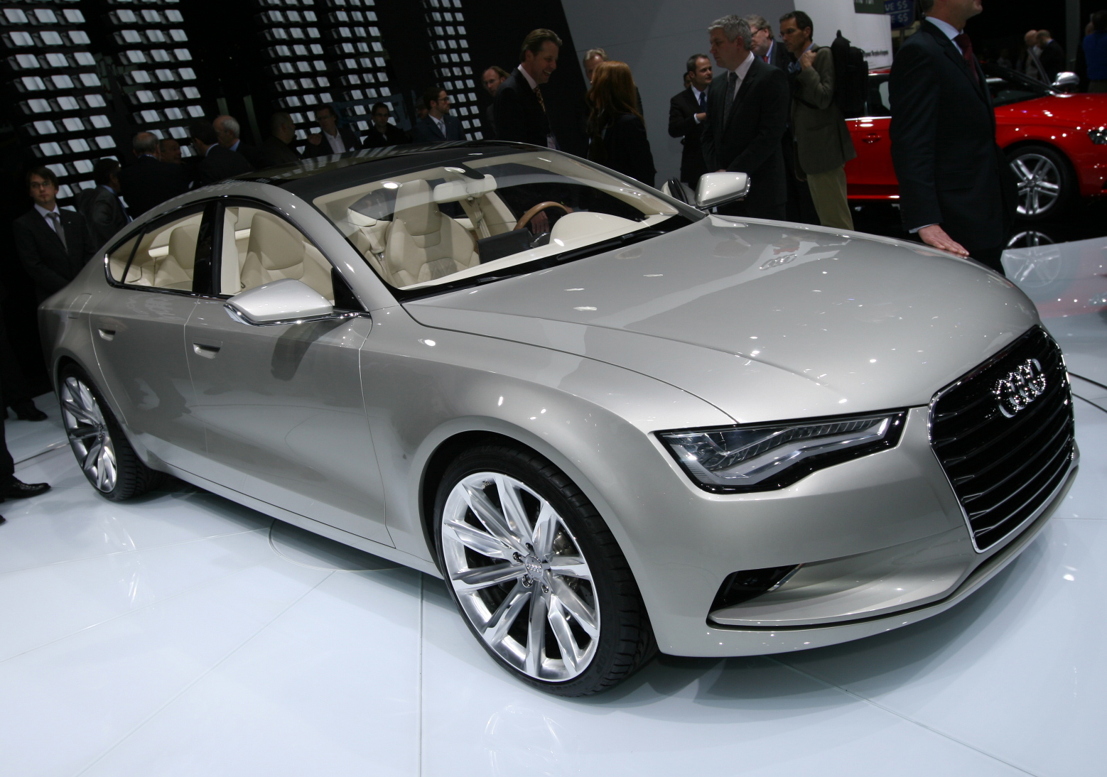 Audi A7 Sportback Concept Photoshoot Video