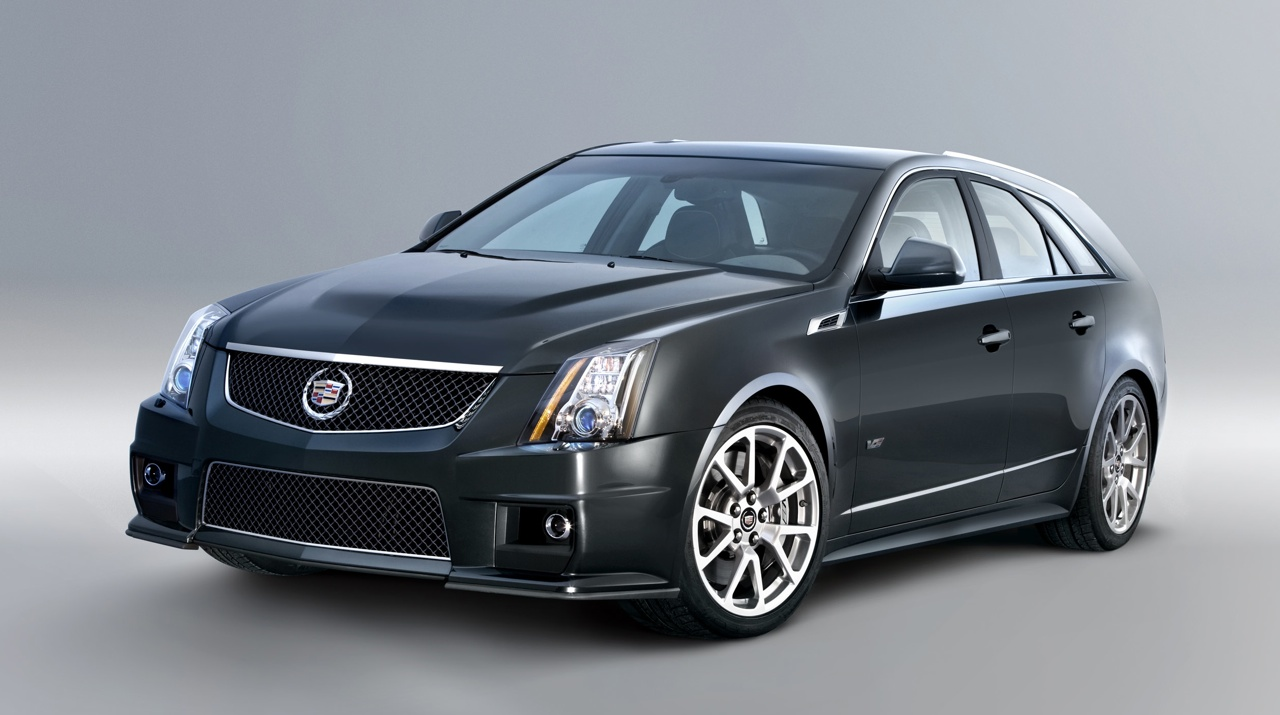2011 cadillac cts v sport wagon officially revealed. Black Bedroom Furniture Sets. Home Design Ideas