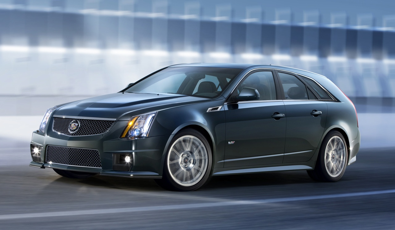 2011 Cadillac CTS-V Sport Wagon Officially Revealed