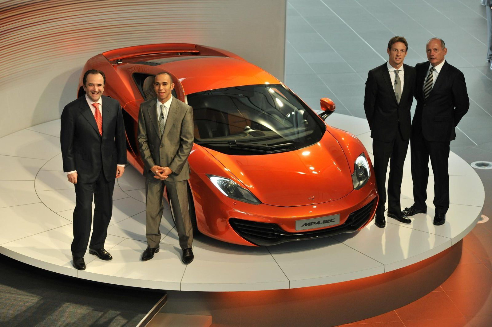 McLaren MP4-12C Press Launch Video