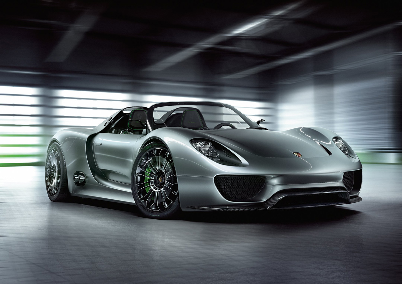 Geneva 2010: Porsche 918 Spyder Plug-In Hybrid Concept
