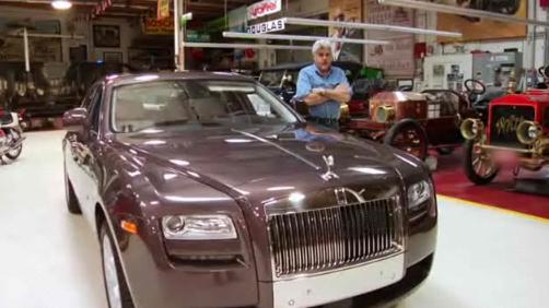 Jay Leno goes Ghost – Rolls-Royce Ghost In Jay Leno's Garage