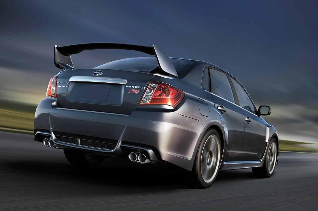 "2010 New York Auto Show: 2011 Subaru WRX STI ""eclipses"" Mitsubishi ..."