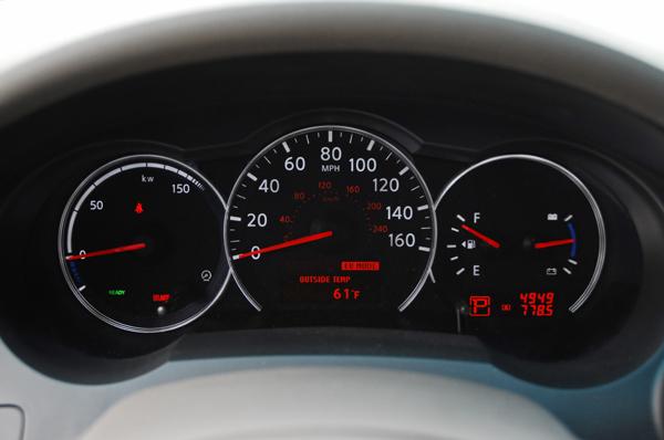 Nissan Altima Hybrid Interior
