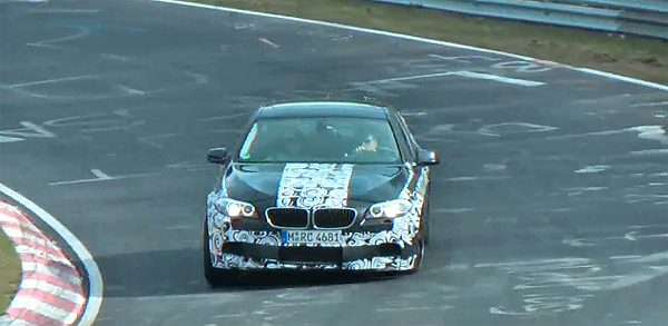 Video: 2011 BMW M5 on the Nurburgring