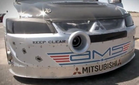 When Fast gets Furious: AMS Drag EVO goes 228 mph, then explodes