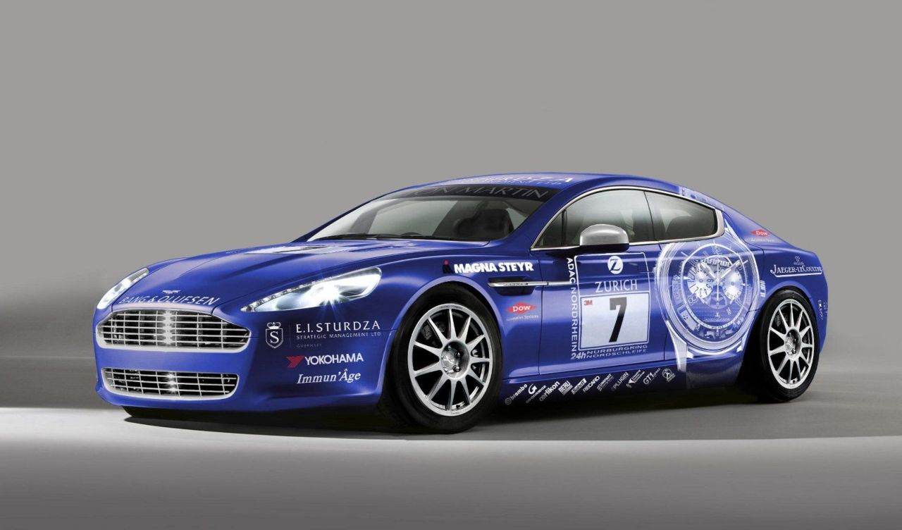 Mostly Stock Aston Martin Rapide to Enter Nurburgring 24-Hour Race