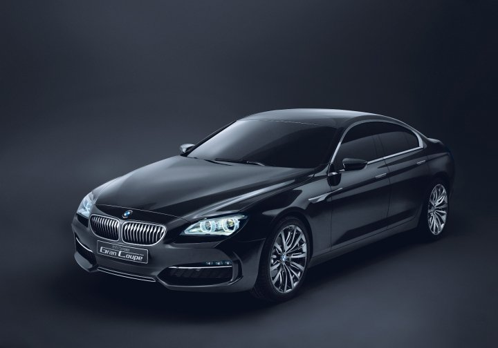 BMW Gran Coupe Concept Revealed