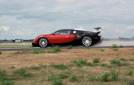 Bugatti Veyron On National Geographic's Man Made