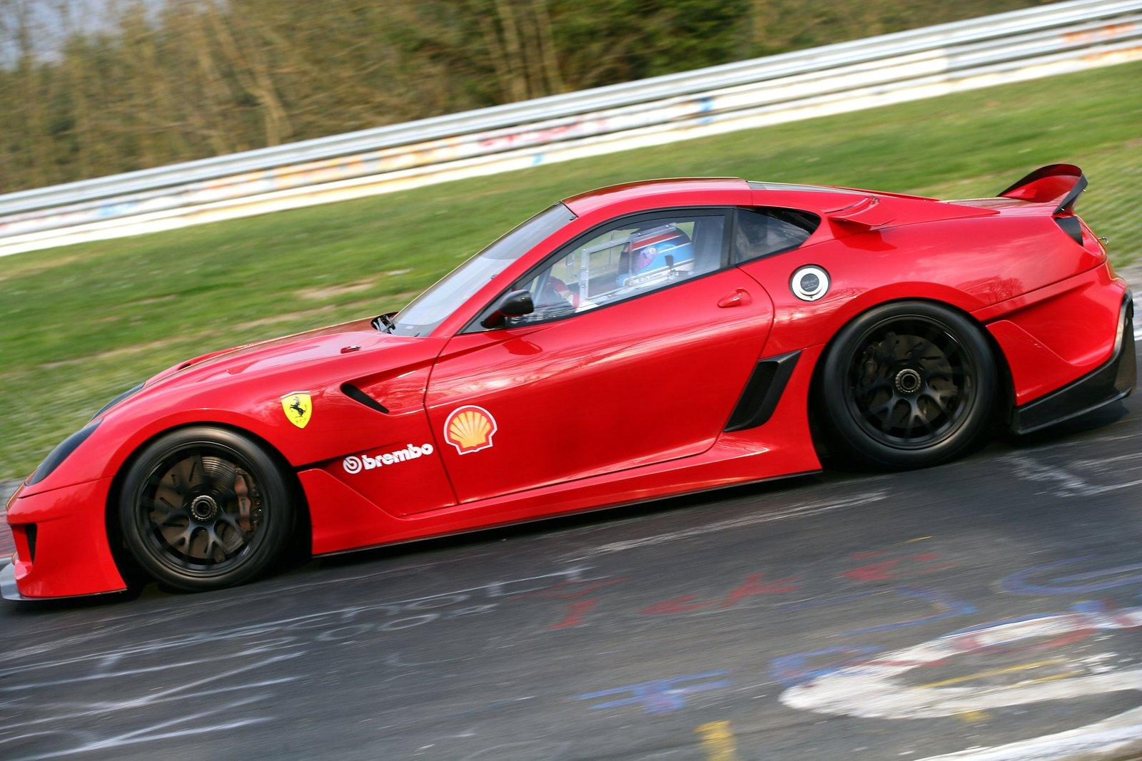New Record Set: Ferrari 599XX Breaks 7 Minute Barrier at Nurburgring – Video