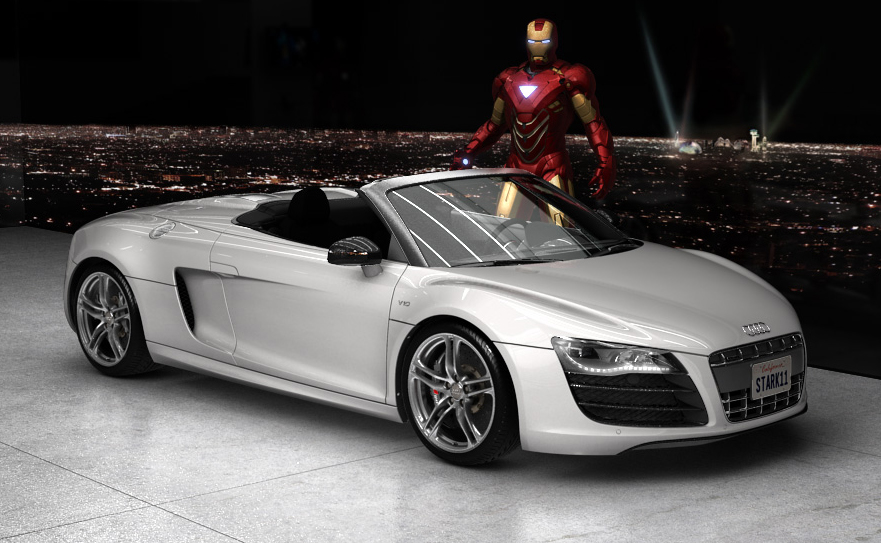 Iron Man 2 Audi R8 Spyder Commercial