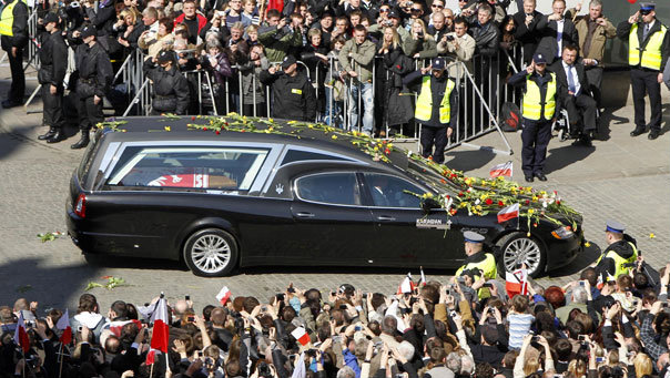 "Riding ""OUT"" In Style: Polish President's Final Ride – Maserati Quatrroporte Hearse"
