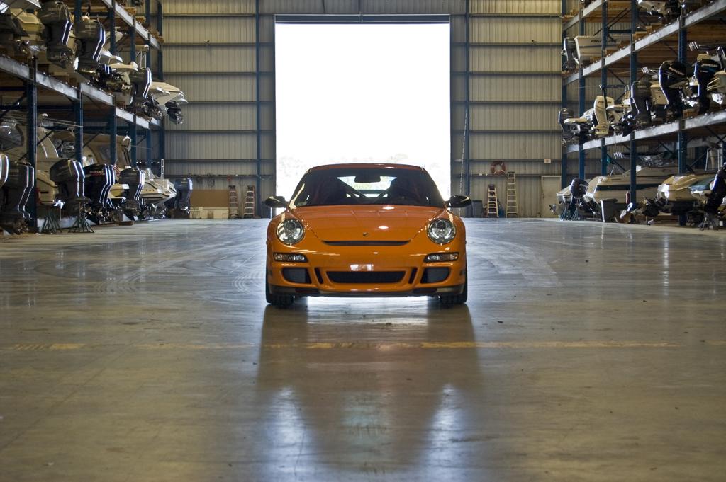 2007 Porsche 911 Gt3. a 2007 Porsche 911 GT3 RS.