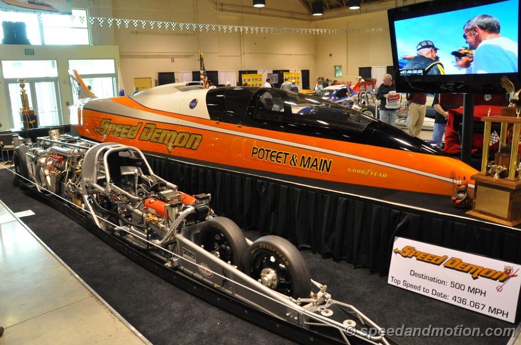 Poteet and Main Speed Demon Streamliner 435mph Run! Enough Said!