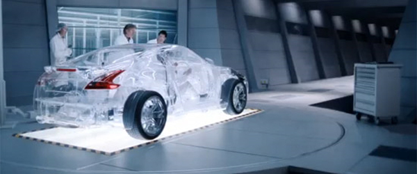 Video: Shell Helix Ultra Transparent Nissan 370Z – How Oil Works Inside Your Car