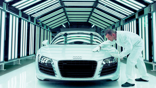 Audi R8 On National Geographic's Ultimate Factories