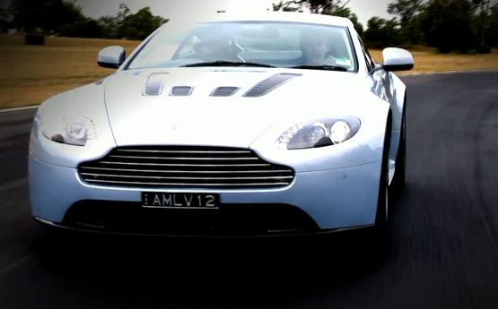 Track Time in the Aston Martin V12 Vantage