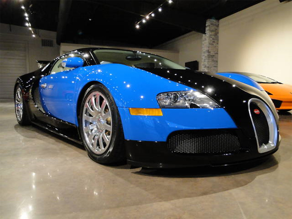 ebay find 2008 bugatti veyron for under 1 million. Black Bedroom Furniture Sets. Home Design Ideas